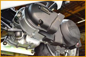 260-EFI cvt engine