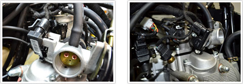 260-EFI fuel injection system
