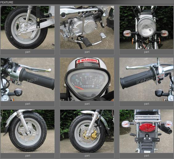 Mango-D 110cc features