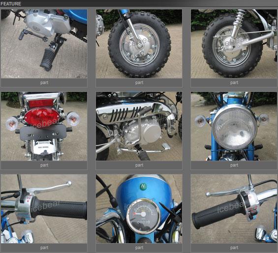 Mango-L 125cc features