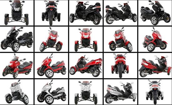 MC-D150TKA Reverse-Trike   Extreme -Big Boys Toys